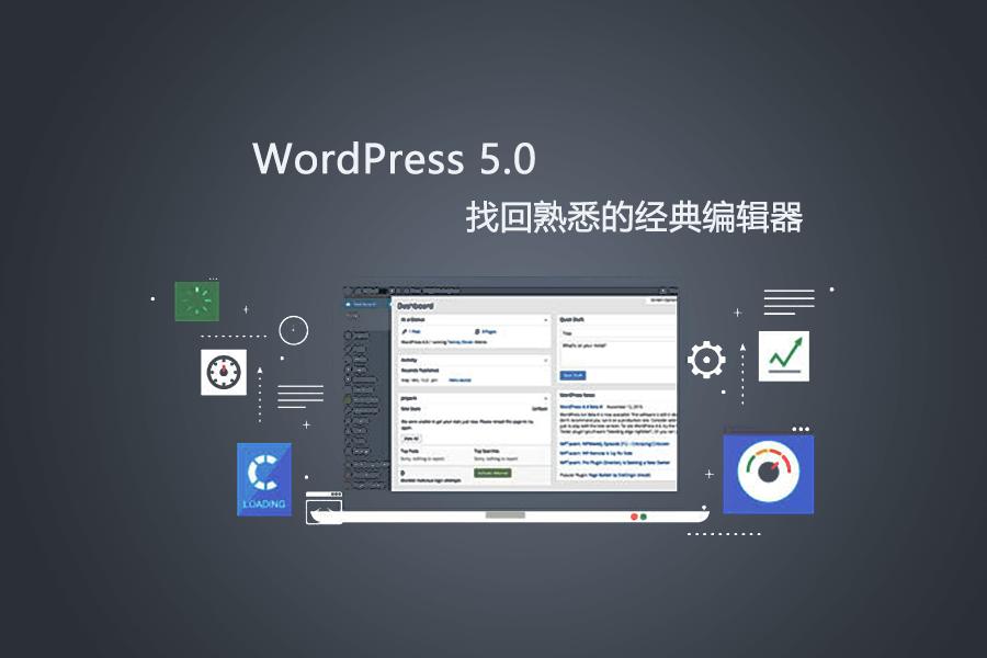 WordPress 5.0 back Classic Editor
