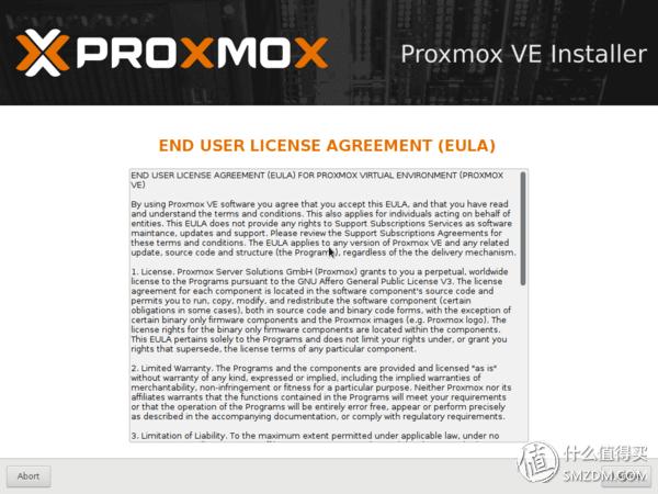 基于ProXmoX VE的虚拟化家庭服务器(篇一)—ProXmoX VE 安装及基础配置