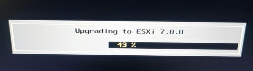VMware vSphere(ESXI)7.0 安装需要注意的事项