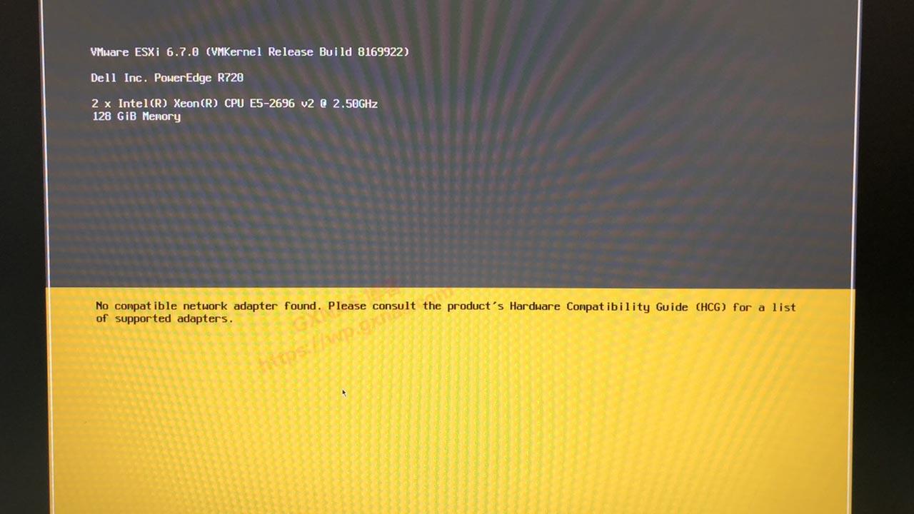 ESXI 6.7 开启网卡直通误把管理口直通后的解决方法